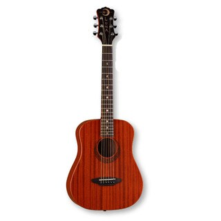 Luna Safari Muse Mahogany Travel Guitar