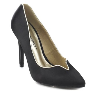 C Label Liberty-8b Women's Slip-on Pointed Toe Stiletto High Heel Dress Pumps
