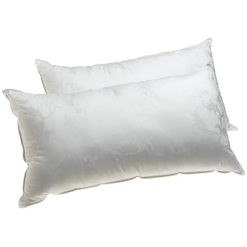 Dream Supreme Hypoallergenic Gel Fiber-Filled Pillow (Set of 2) - White