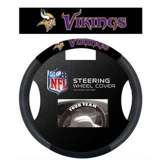Minnesota Vikings Poly Mesh Steering Wheel Cover