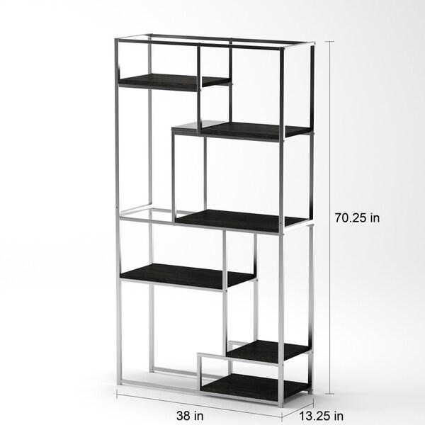 6 shelf bookcase white canada furniture contemporary tiered open ikea