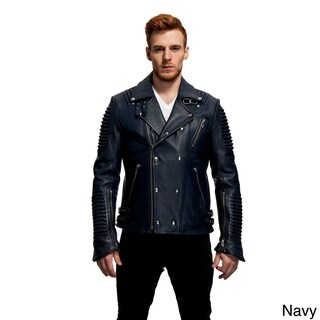 Men's The Empire Leather Moto Jacket (More options available)