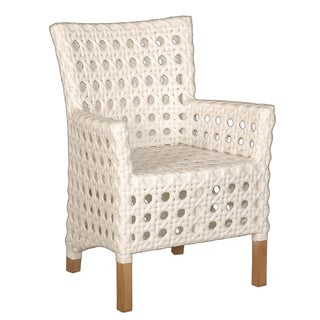 Decorative Sacramento White Modern Indoor/Outdoor Chair