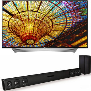 LG 55UF6800 55-inch 4K 120Hz LED Ultra HDTV with webOS 2.0 - WITH FREE LAS465B SOUNDBAR