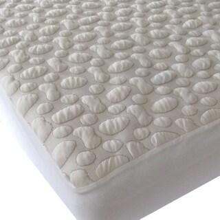 40-Winks Pebble-Puff Cotton Mattress Pad