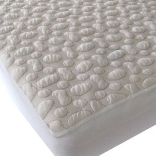 40-Winks Pebble-Puff Organic Cotton Mattress Pad