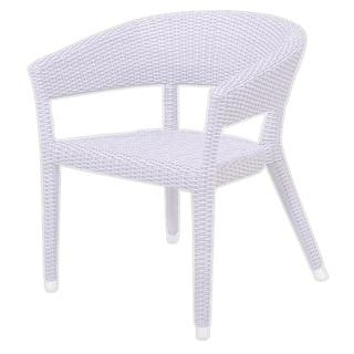 Decorative Modern Orinda White Indoor/Outdoor Chair