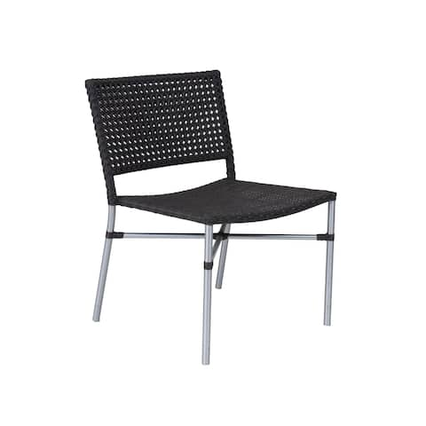 East At Main's Decorative Modern Malibu Brown Indoor/Outdoor Chair