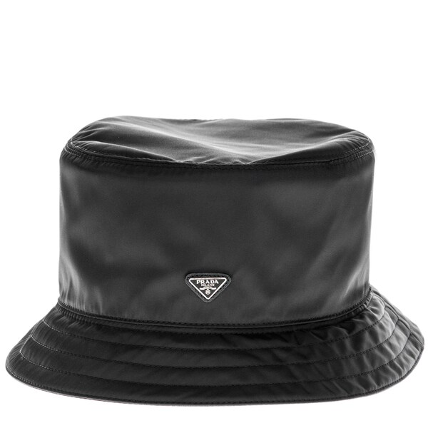 445be9cdb Prada Tessuto Nylon Black Bucket Hat