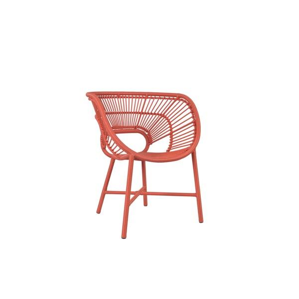 Decorative Sleek Pink Modern Indoor /Outdoor Chair