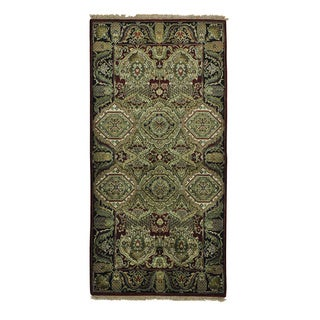 Gallery Size Arts and Crafts Hand Knotted Oriental Rug (4' x 8')