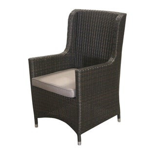 East At Main's Decorative Modern Madera Brown Indoor/Outdoor Chair