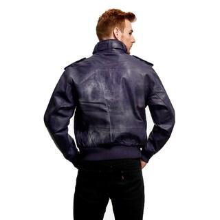 Live Mechanics Perforated Leather Jacket