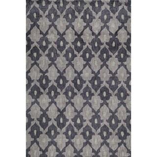 "Momeni Rio Aubergine Hand-Tufted Rug (5' X 7'6) - 5' x 7'6"""