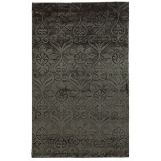 Handmade Rizzy Home Villa Travina Collection Viscose Accent Rug (2' x 3')