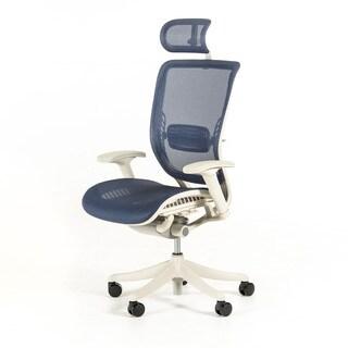 Modrest Wright Modern Blue Office Chair