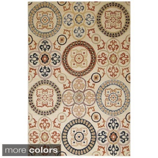 Rizzy Home Carrington Collection Power-Loomed Accent Rug (7'10 x 10'10)