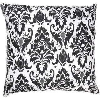 Rizzy Home Damask Print 18-inch Accent Pillows