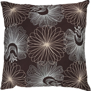 Rizzy Home 18-inch Floral Accent Pillow
