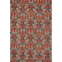 Momeni Rio Red Hand-Tufted Rug (3'6 X 5'6)