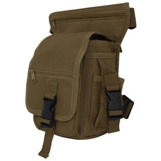 Outdoor Tactical Hiking Camping Hip/Leg Pouch Bag (Option: Beige)