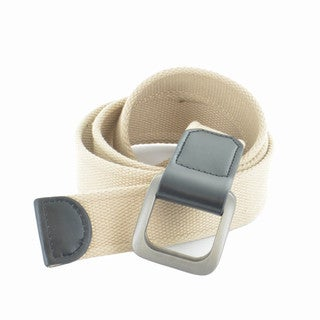 Faddism Unisex Solid Canvas Web Belt