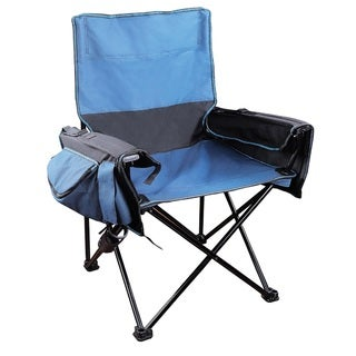 Stansport Two-tone Blue Ultimate Event Chair