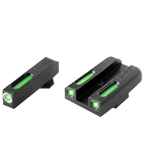 Truglo Brite-site Tfx Handgun Sight Glock High Set