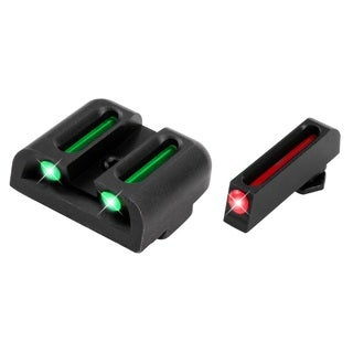 Truglo Brite-site Fiber-optic Handgun Sight Glock High Set