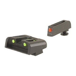 Truglo Brite-site Fiber-optic Handgun Sight Glock High Set