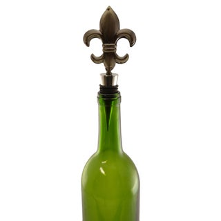 Fleur De Lis Wine Stopper