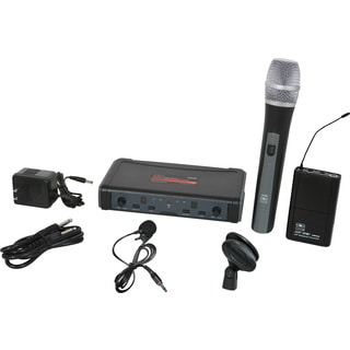 Galaxy Audio ECDR/ HHBPV Dual Channel Wireless Microphone System