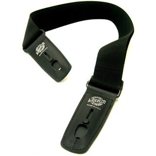 Lock-it Straps Professional 2-inch Black Cotton Strap