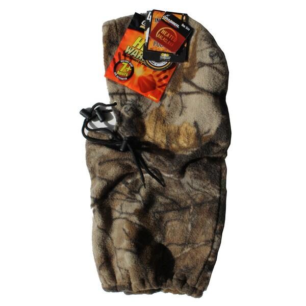 Grabber Heated Fleece Balaclava Realtree Xtra
