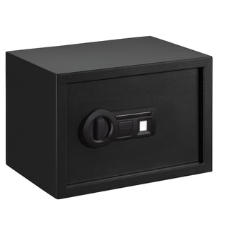 Stack-On Large Safe with Biometric Lock, Shelf