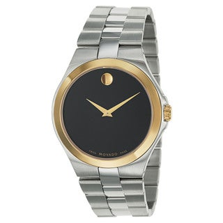 Movado Men's 'Movado Collection' Two-tone Swiss Quartz Watch