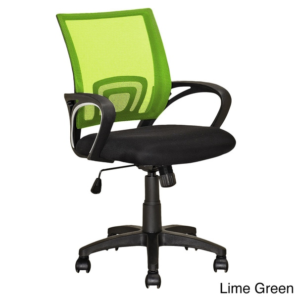 lime green office furniture. corliving workspace mesh back office chair multiple colors free shipping today overstockcom 17499748 lime green furniture