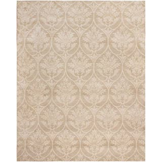 Hand Tufted Wool Ivory Rug (8 x 10)