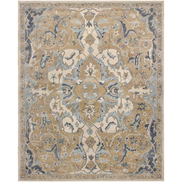 Nolan Persian Style Beige Wool Rug(8 X 10)