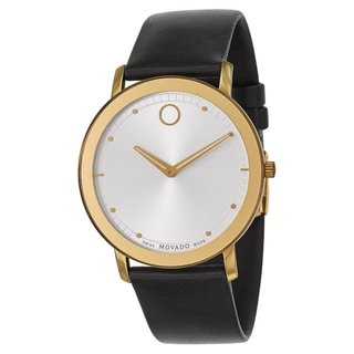 Movado Men's 'Sapphire' Two-tone Stainless Steel Swiss Quartz Watch