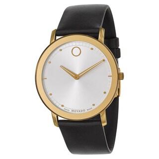 Movado Men's 'Sapphire' Two-tone Stainless Steel Swiss Quartz Watch