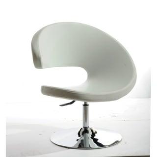 Modrest Adara Modern Orange Fabric Lounge Chair