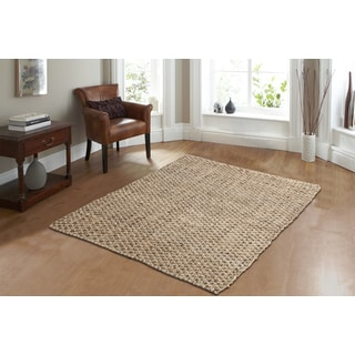 Criss Cross Chocolate Area Rug