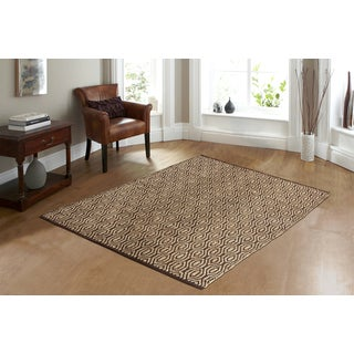 SunnyVale Chocolate Area Rug - 2' x 3'