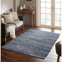 Chesapeake Merchandising Denim Chindi Area Rug - 5' x 7'