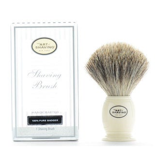 The Art Of Shaving 100-percent Pure Badger Hand-crafted Ivory Shaving Brush
