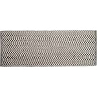 "Chesapeake Portland Chevron Grey Accent Rug Runner (22""x60"") - 22""x60"""