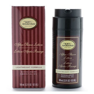 The Art Of Shaving 3.3-ounce After Shave Lotion Sandalwood Essential Oil Lightweight Formula