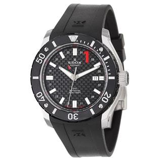 Edox Men's 'Class 1' Stainless Steel Swiss Mechanical Automatic Watch