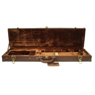 SportLock LeatherLock Takedown Deluxe O/U Shotgun Case